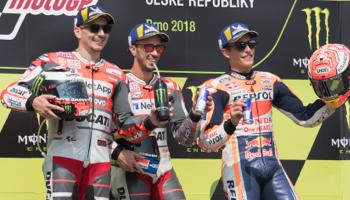 Moto GP République Tchèque : début de la seconde moitié de la saison