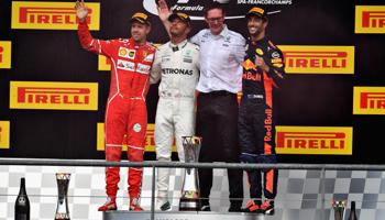 F1 GP de Belgique : trois victoires Mercedes depuis trois saisons