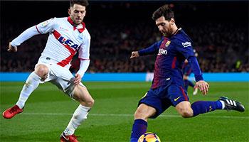 FC Barcelone – Alaves : Premier match de Liga pour le champion d'Espagne.