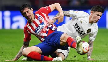 Atlético – Valence : deux équipes du niveau Ligue des Champions