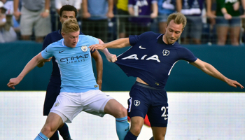Tottenham – Man City : duel anglais dans le nouveau stade des Spurs