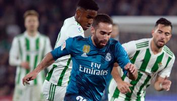 Betis – Real Madrid : le sixième reçoit le cinquième