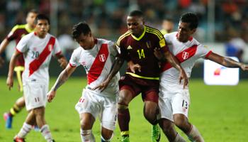 Venezuela – Pérou : deuxième place du groupe en jeu