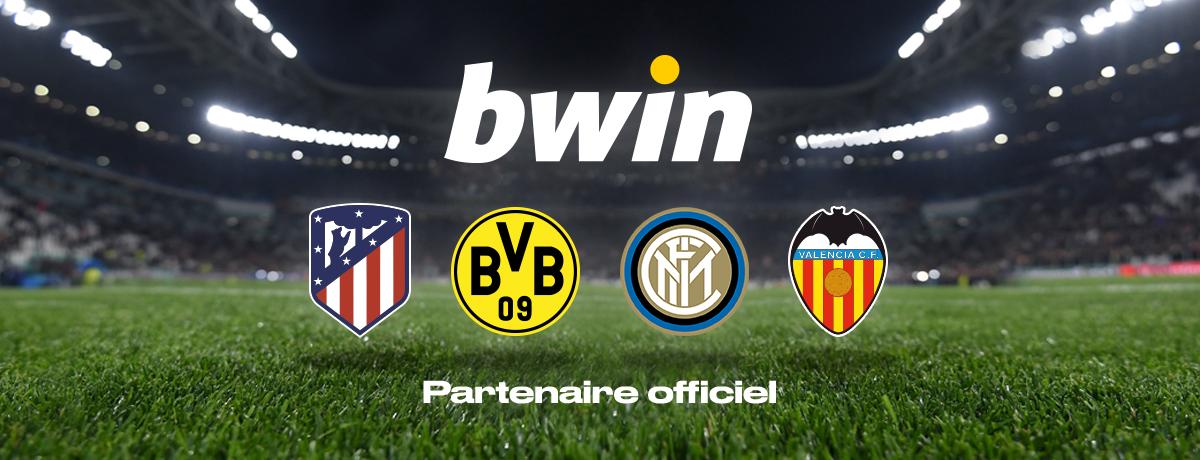 bwin Sponsorsing - Partenaire Officiel