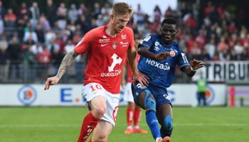 Reims – Brest : 1.38 but par match en moyenne à Auguste Delaune