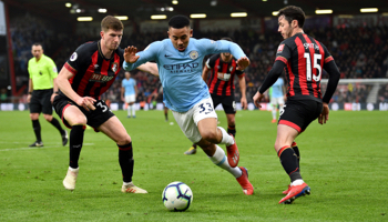 Bournemouth – Man City : 100% de victoire pour Guardiola