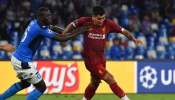 Liverpool – Naples : pour qui la première place du groupe E ?