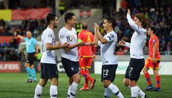 France – Andorre : attaque – défense