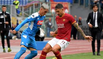 AS Rome – Naples : duel pour la cinquième place