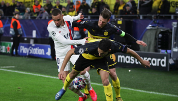 Paris – Dortmund : Premeir but déterminant