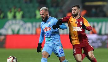 Rizespor – Galatasaray : Le champion devrait s'imposer facilement