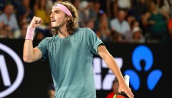 Ο Τσιτσιπάς γράφει ιστορία, προκρίθηκε στα ημιτελικά του Αυστραλιανού Open!