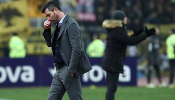 Ουζουνίδης: Εφυγε από την ΑΕΚ χωρίς νίκη σε ντέρμπι!