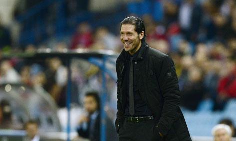 Simeone è sulla panchina dell'Atletico dal 2011