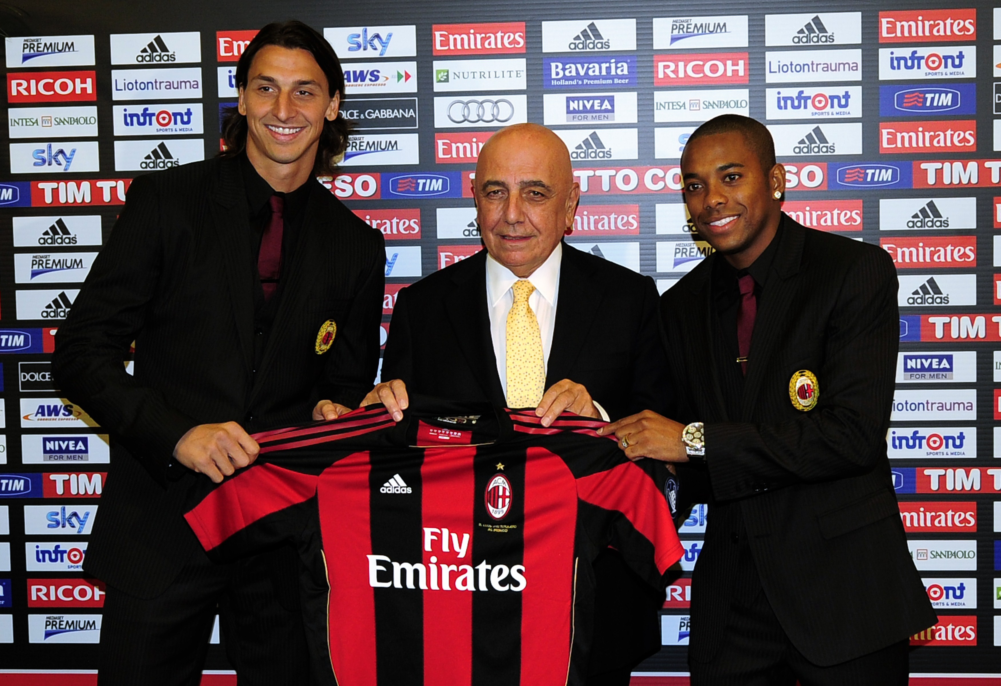 New AC Milan player, Sweden's Zlatan Ibr