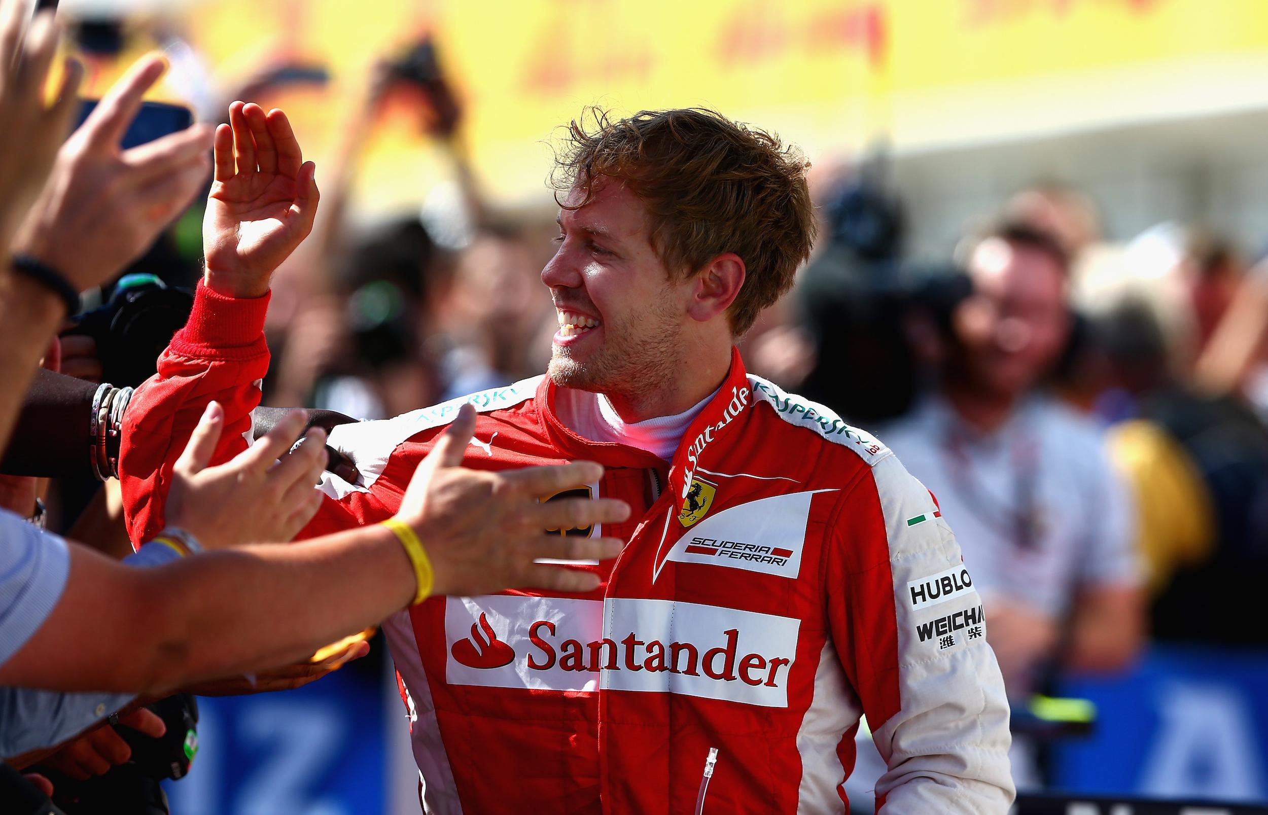 Sebastian Vettel, pilota di punta della Ferrari