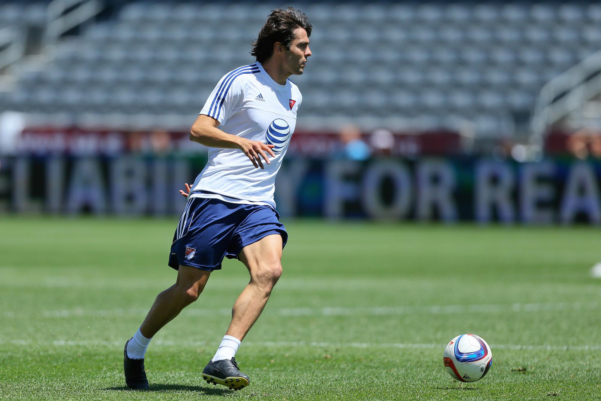 Kakà con la maglia del MLS All Star