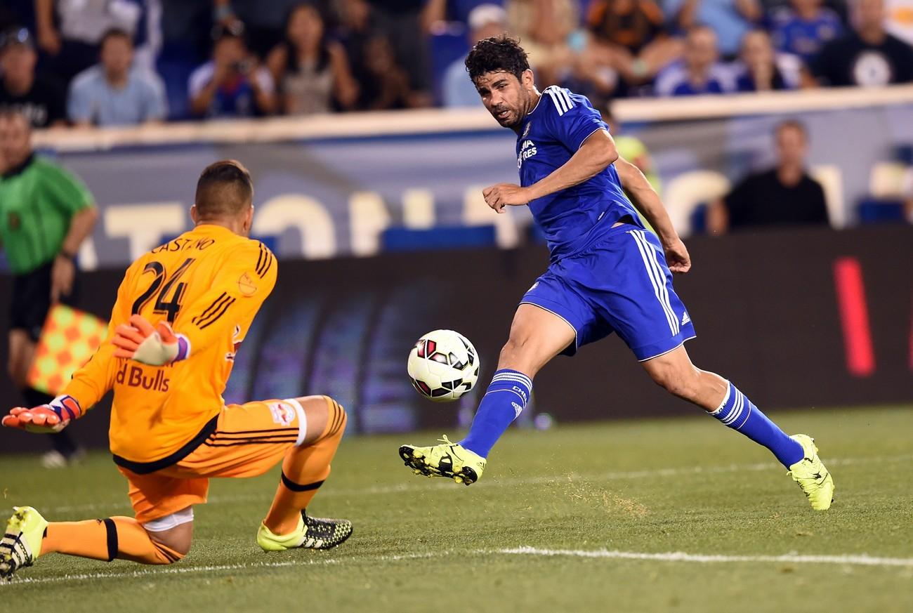 Diego Costa, solamente 3 gol in Premier League quest'anno