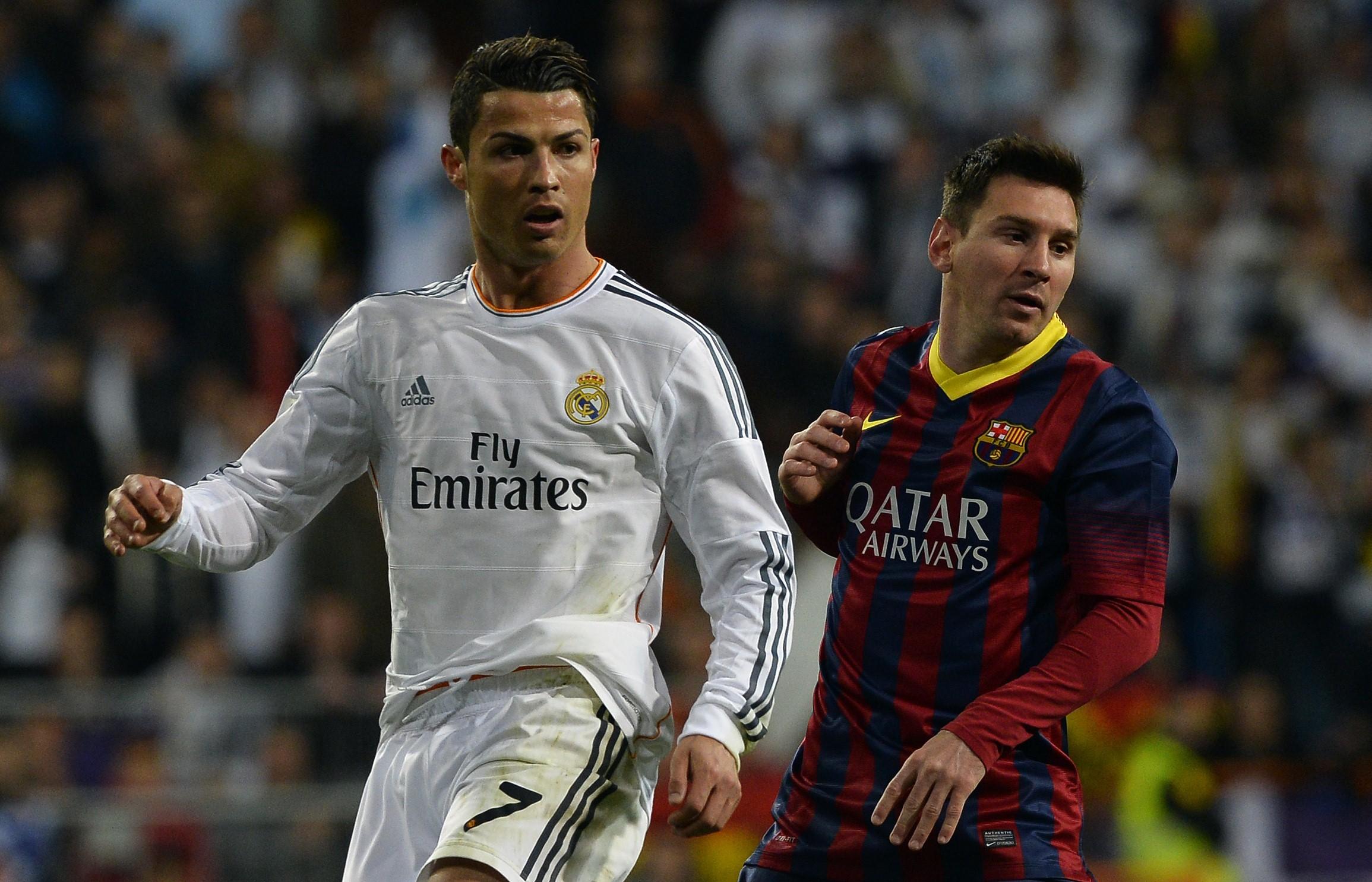 CR7 e Messi: rispettivamente 48 e 43 gol nella scorsa Liga spagnola