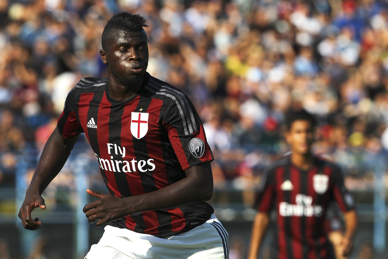 Mbaye Niang, tornato al Milan dopo un corroborante prestito al Genoa