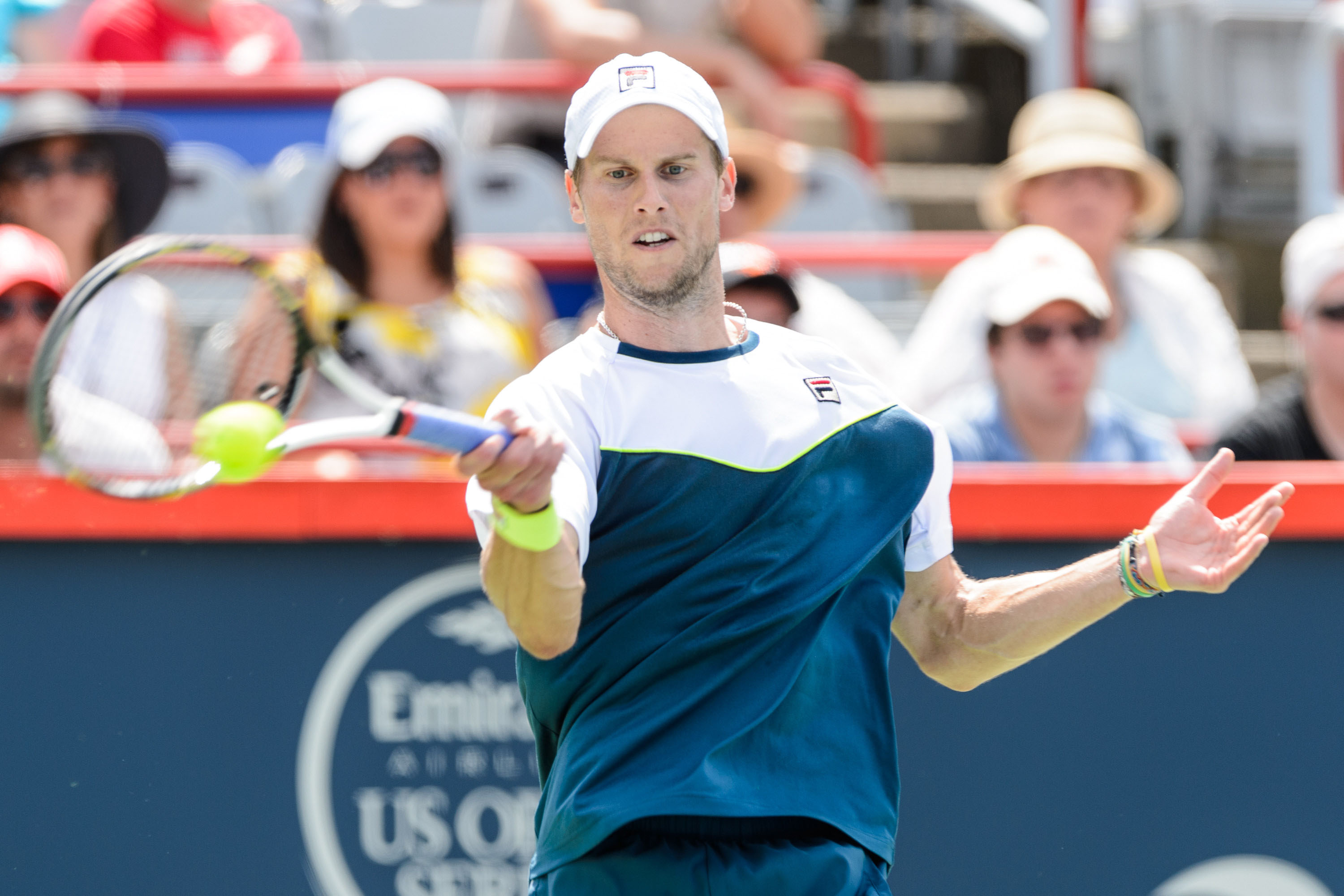 Andreas Seppi in campo domani all'Atp di Nizza