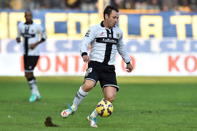 Antonio Cassano, qui con la maglia dell Parma