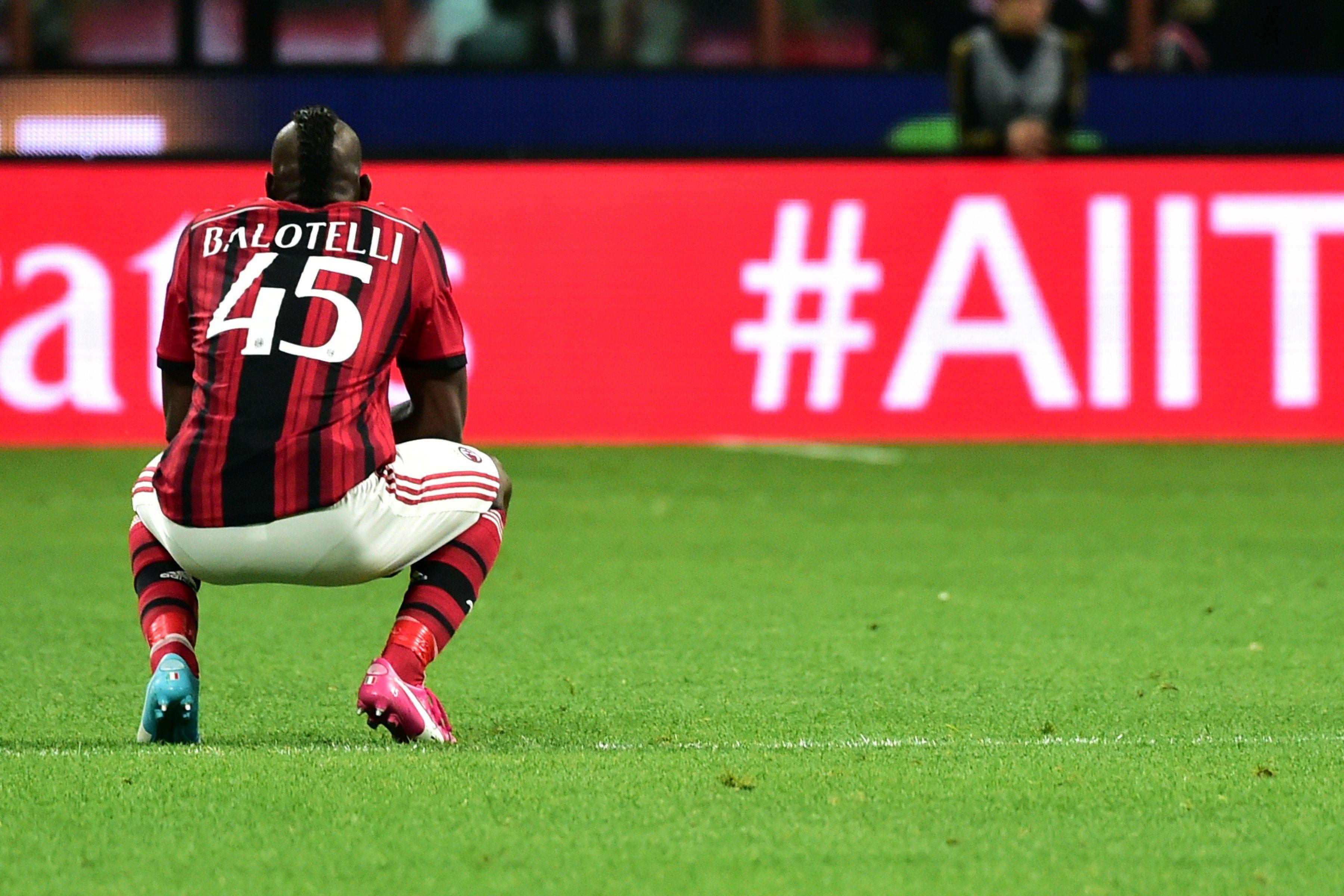 Mario Balotelli, presto tornerà a indossare la maglia del Milan