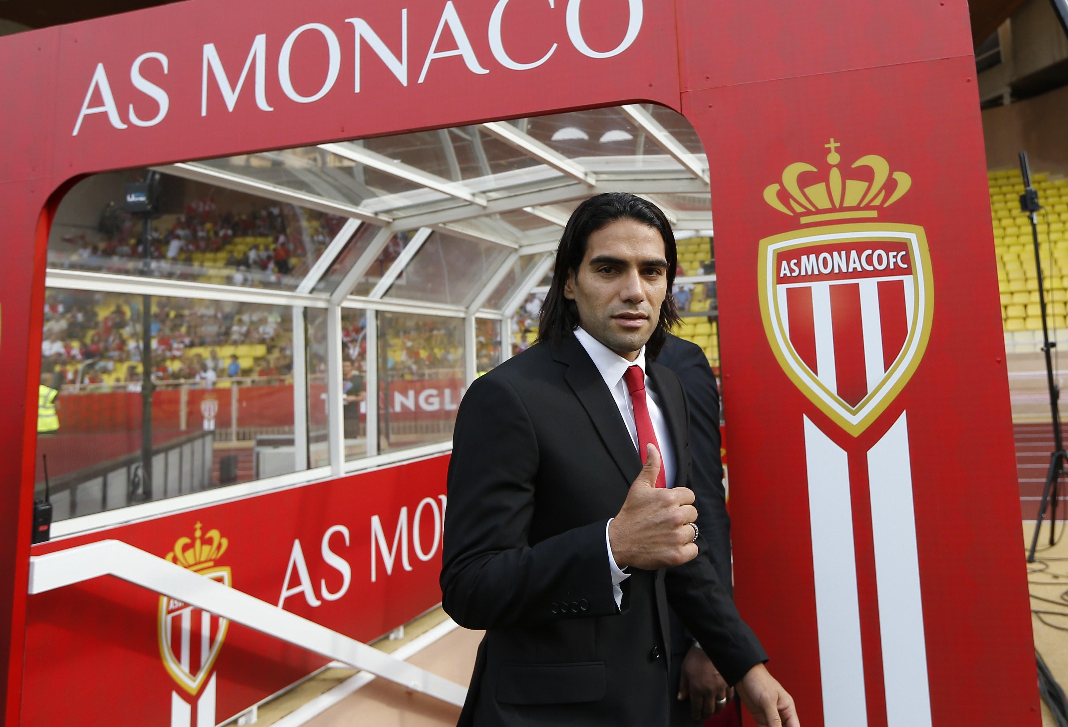 Nell'estate 2013 Falcao passa al Monaco per 45 milioni di euro