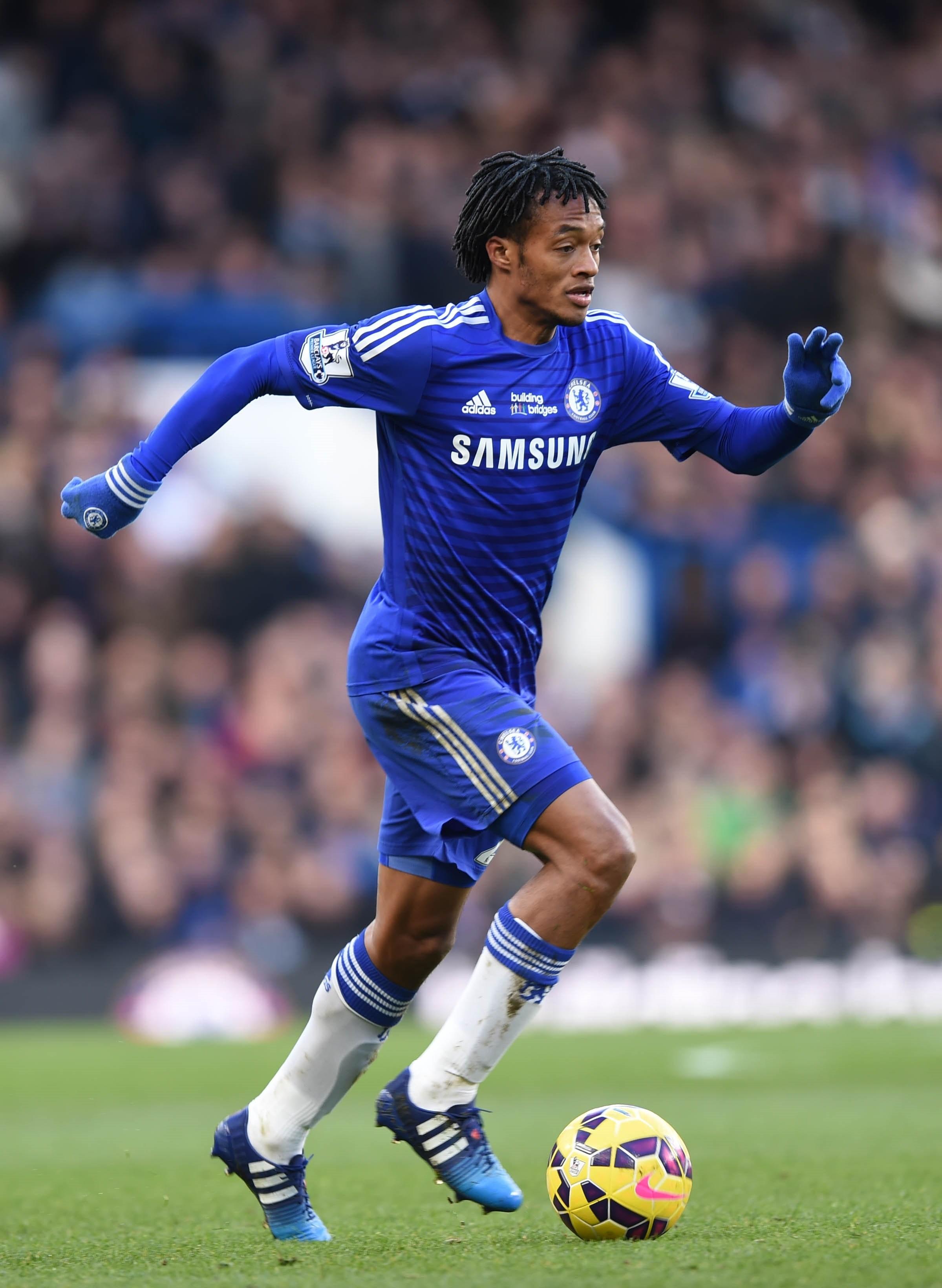 Juan Cuadrado, passato al Chelsea lo scorso gennaio per 30 milioni di euro