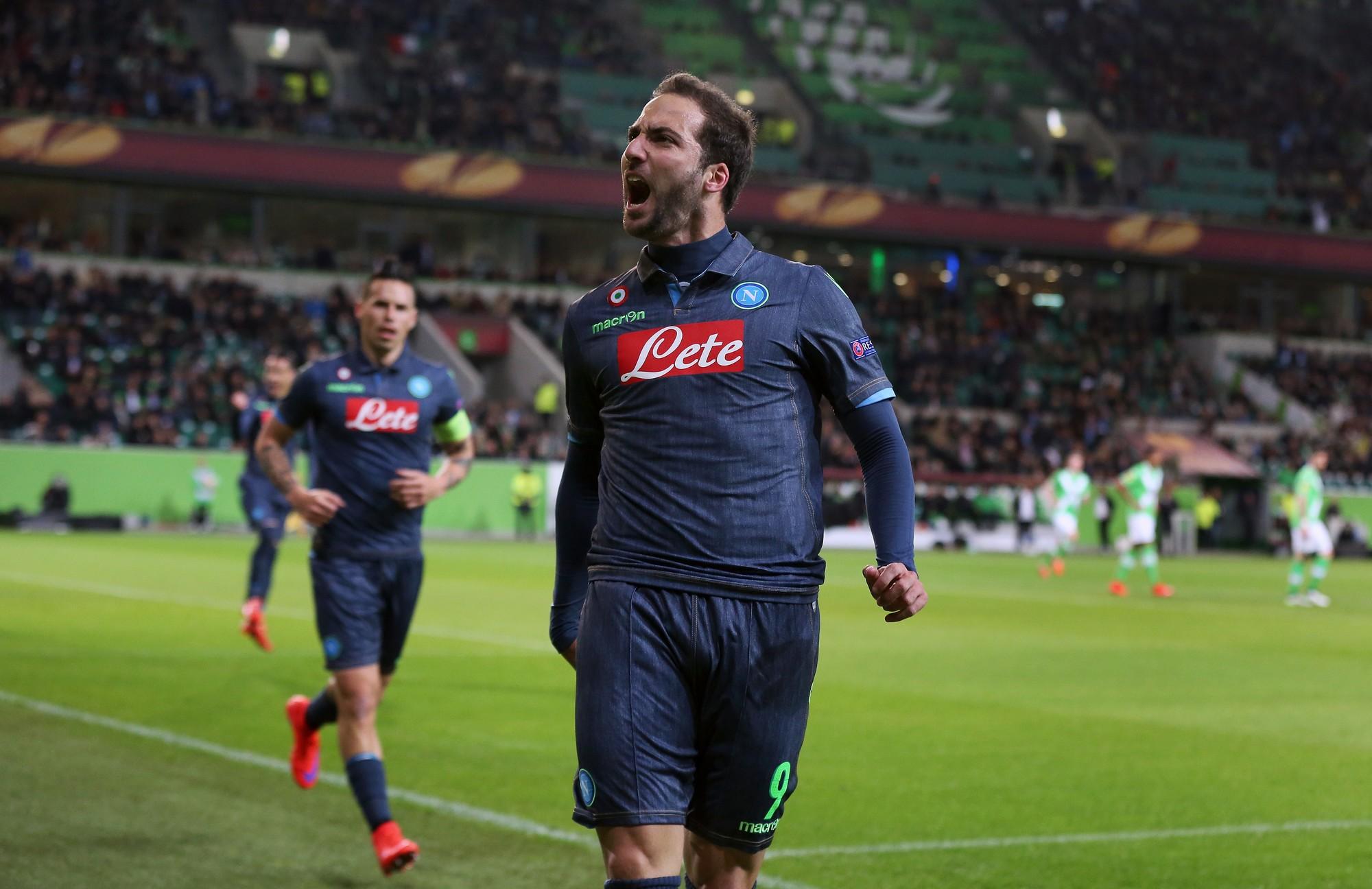 Gonzalo Higuain: due gol per lui in campionato, entrambi contro la Sampdoria