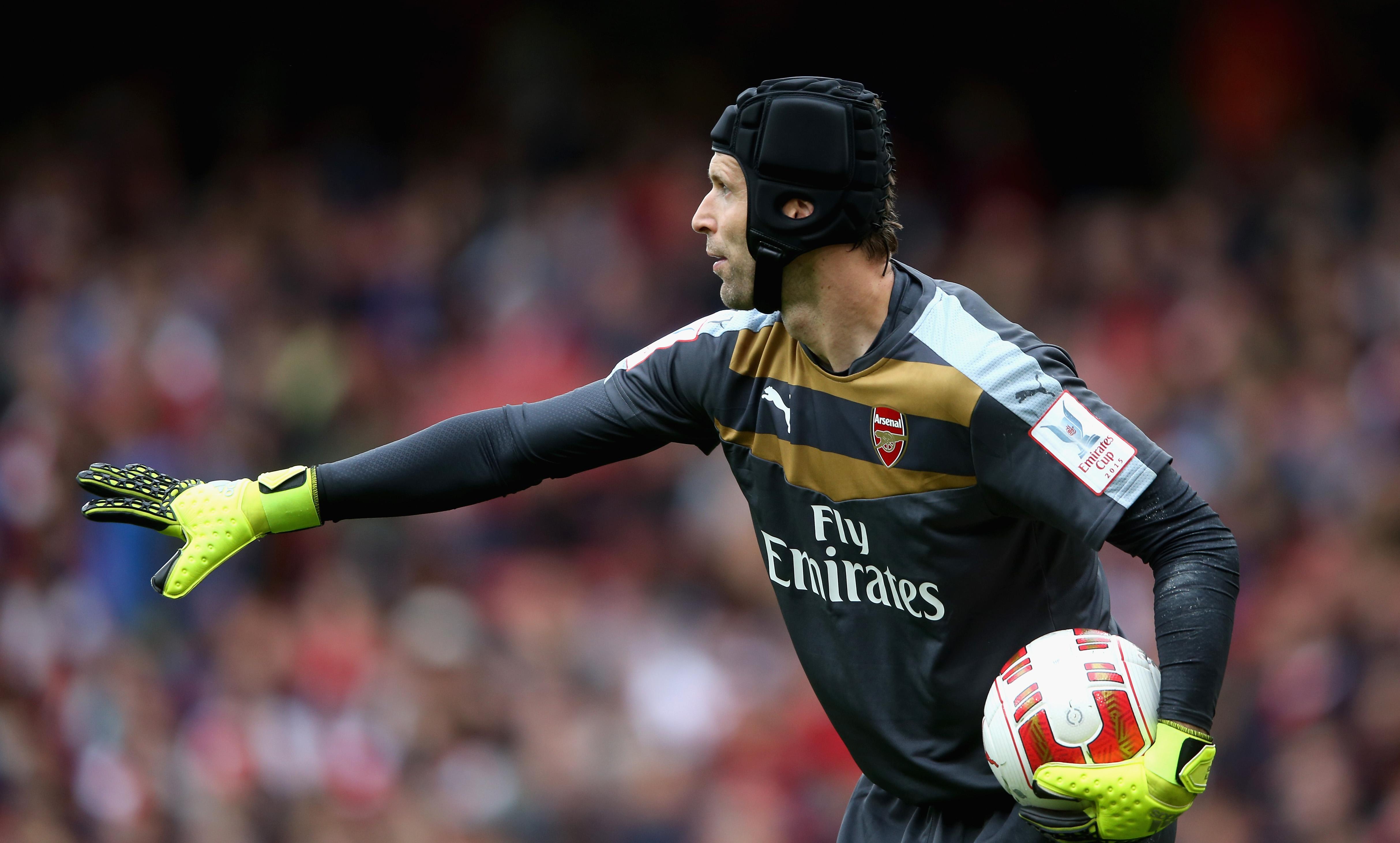 Peter Cech, 33 anni, prima stagione all'Arsenal dopo 11 al Chelsea
