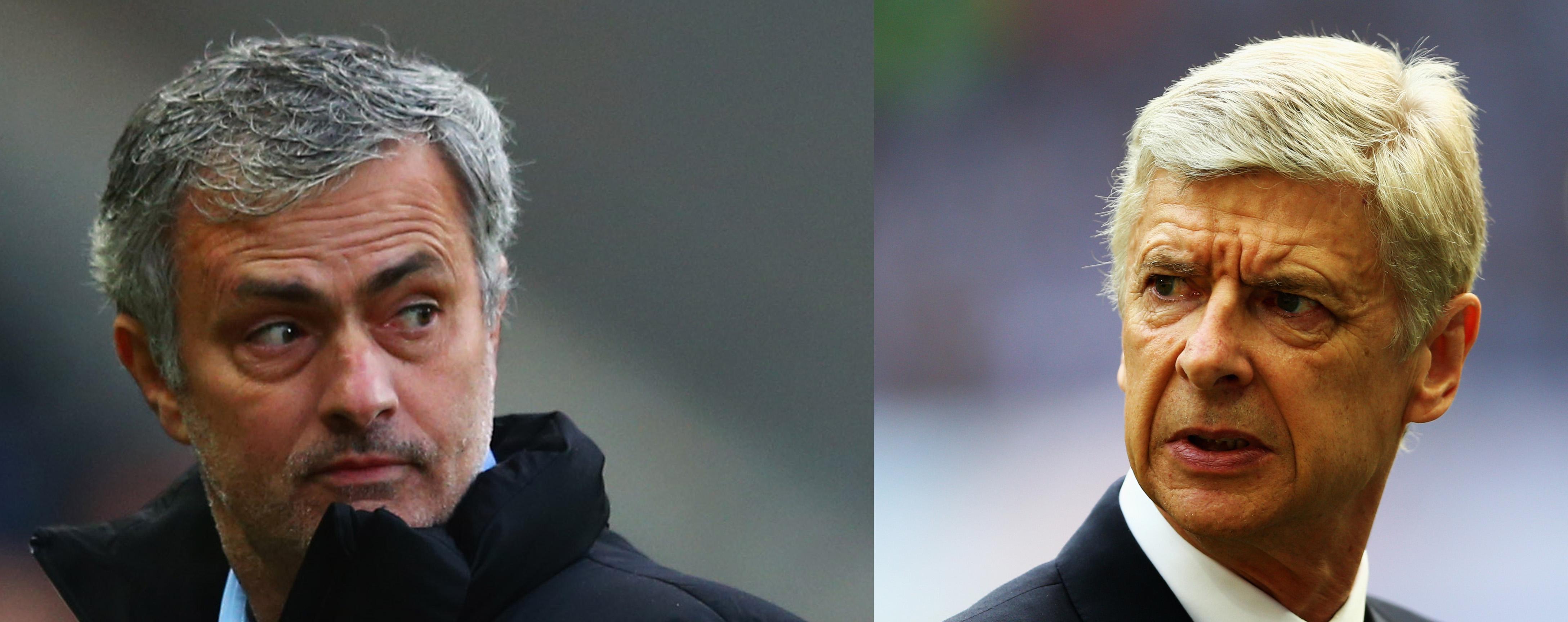 Josè Mourinho vs Arsene Wenger