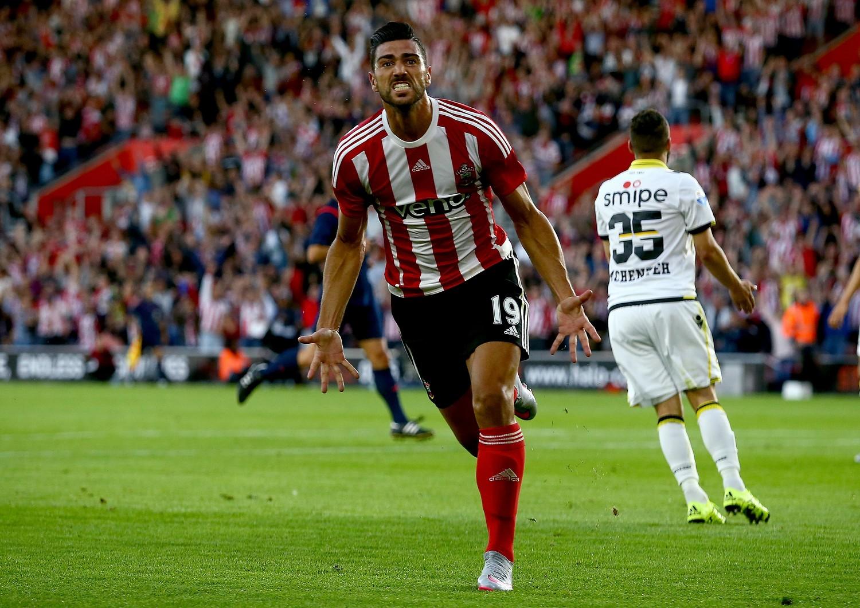 Graziano Pellè ha aperto le marcature nel 3-0 contro il Vitesse
