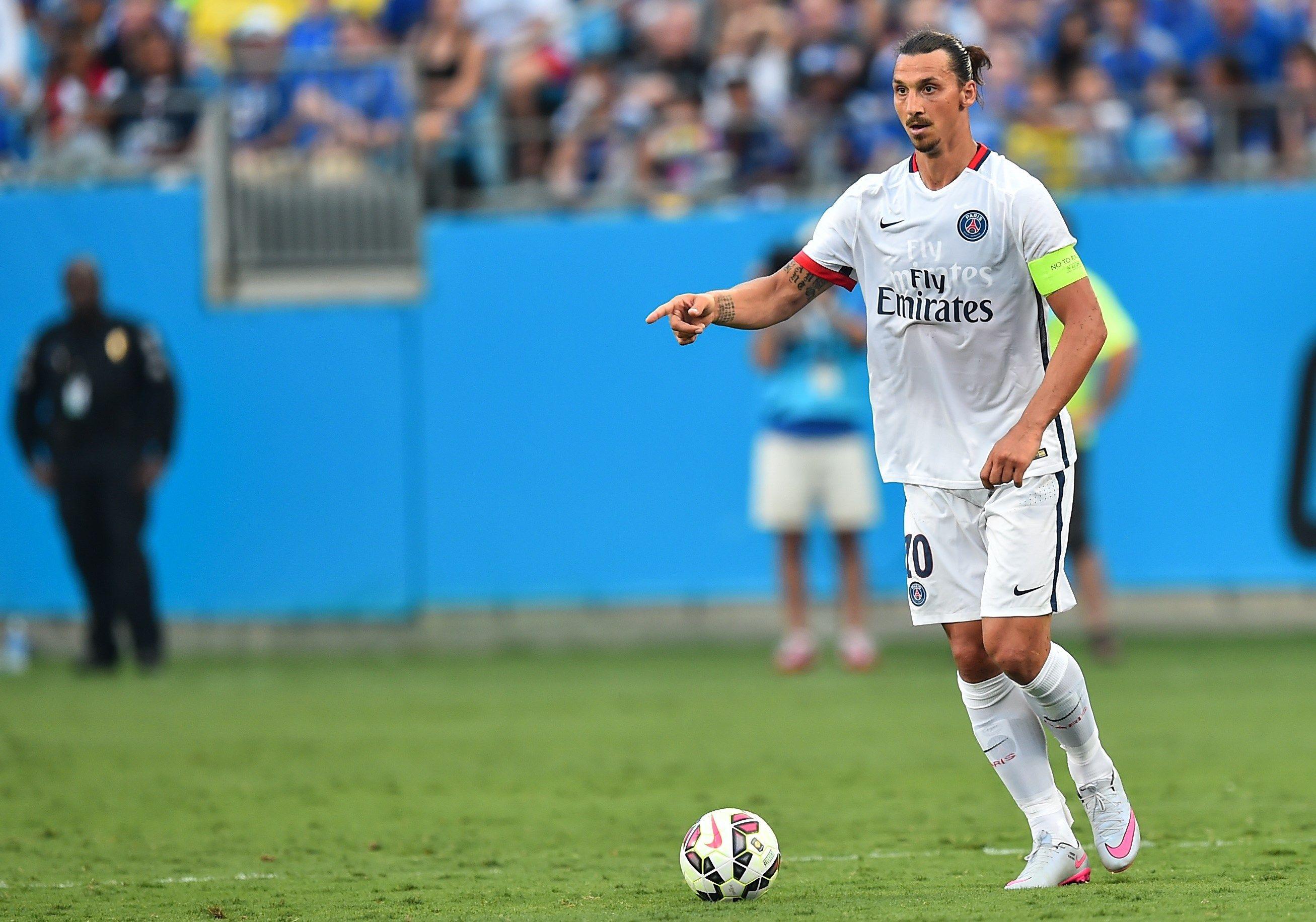 Zlatan Ibrahimovic, 34 anni, al suo quarto anno al PSG