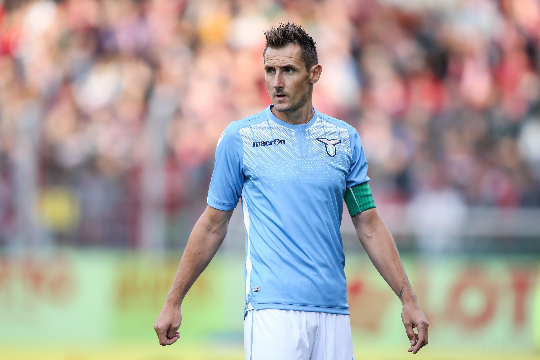 Klose sarà al centro del tridente della Lazio