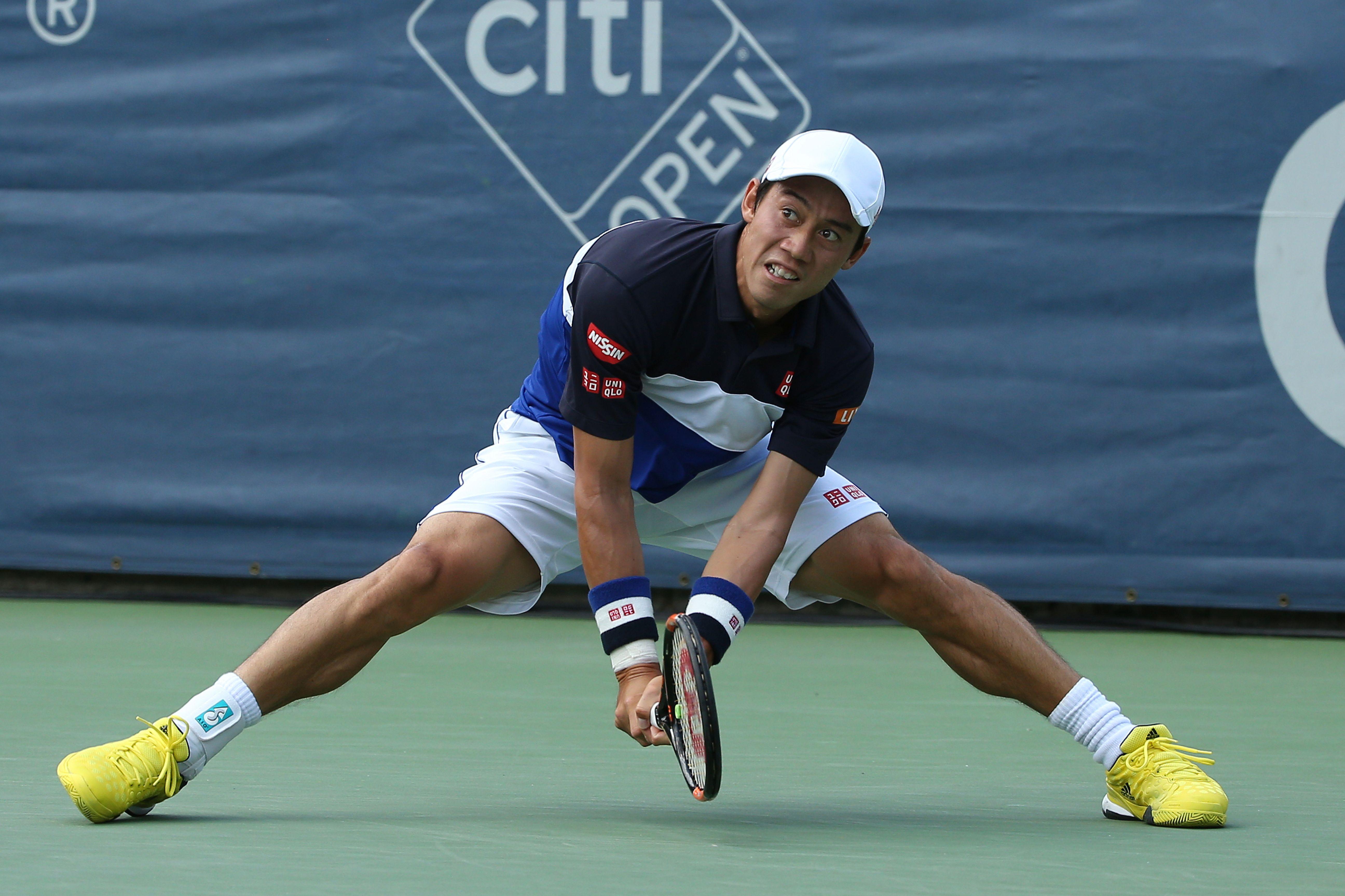 Kei Nishikori, giocherà il quarto di finale contro Monfils