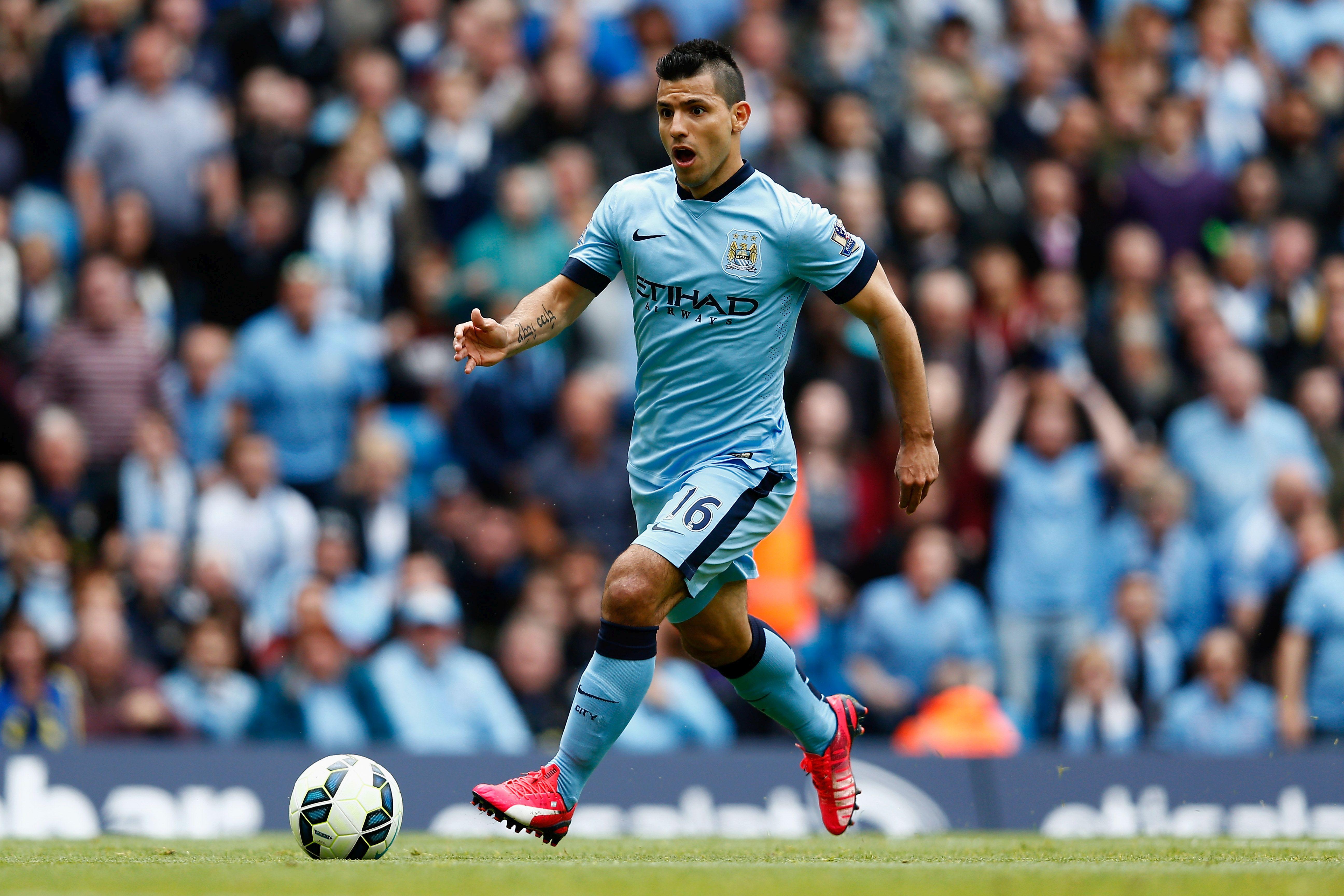 Sergio Aguero, la sua presenza contro il Liverpool è in dubbio