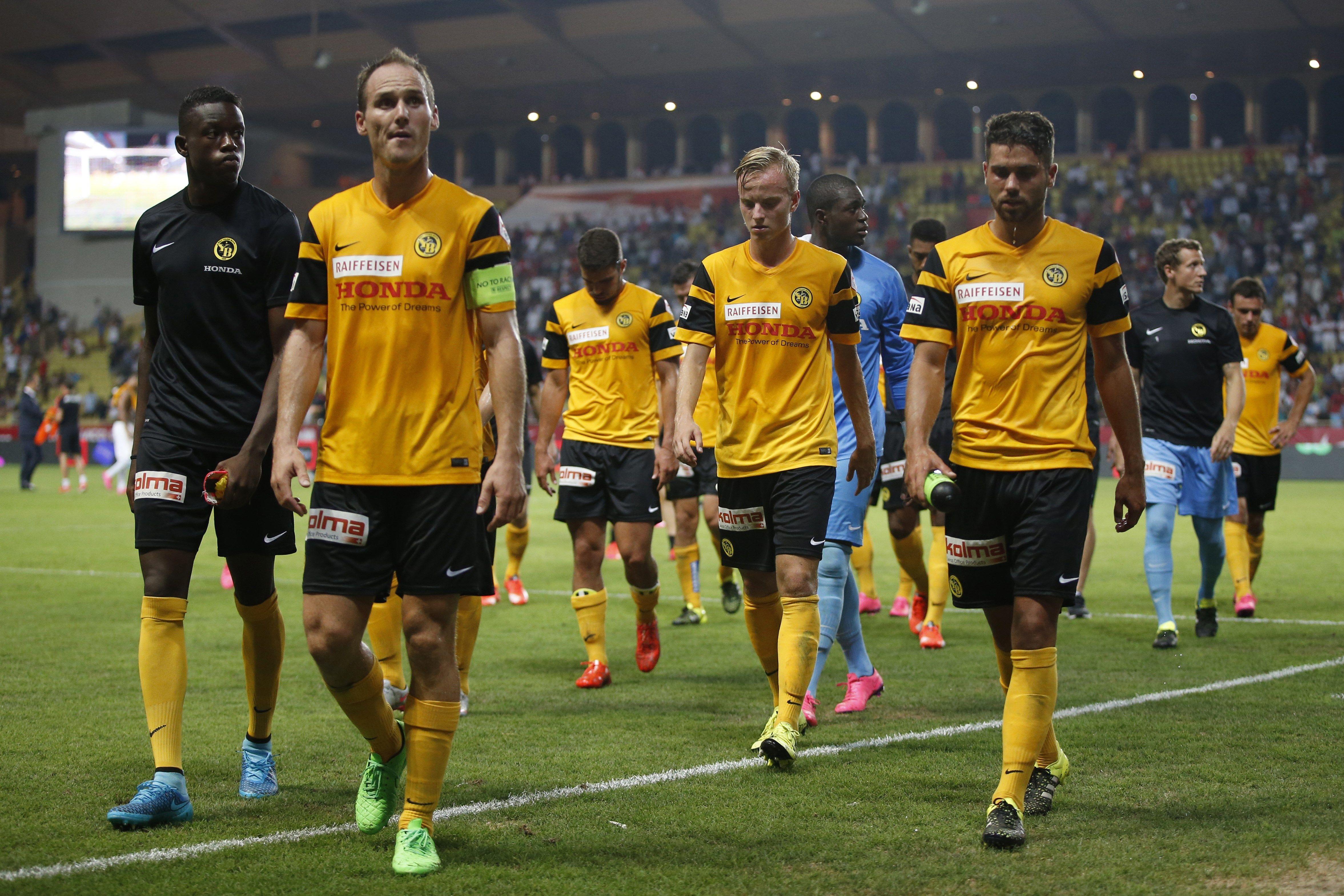 Young Boys, hanno giocato il preliminare di Champions League contro il Monaco