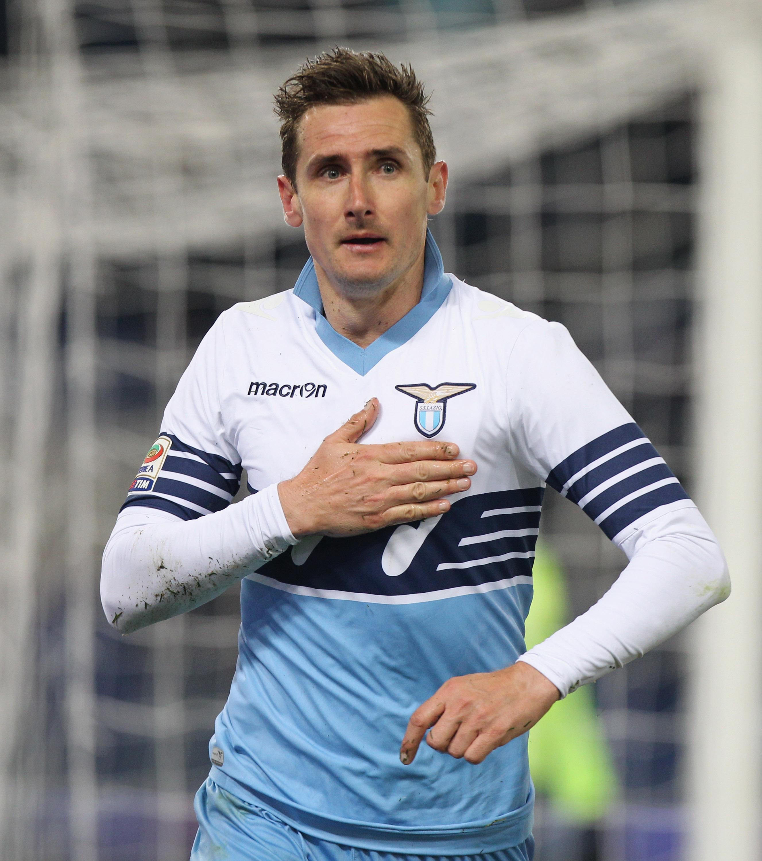 Miroslav Klose chiude la sua quinta stagione alla Lazio