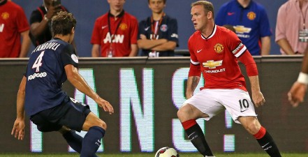 CHICAGO, IL - JULY 29:  of Manchester United of Paris Saint-Germain during a match in the 2015 International Champions Cup at Soldier Field on July 29, 2015 in Chicago, Illinois. (Photo by Jonathan Daniel/Getty Images)