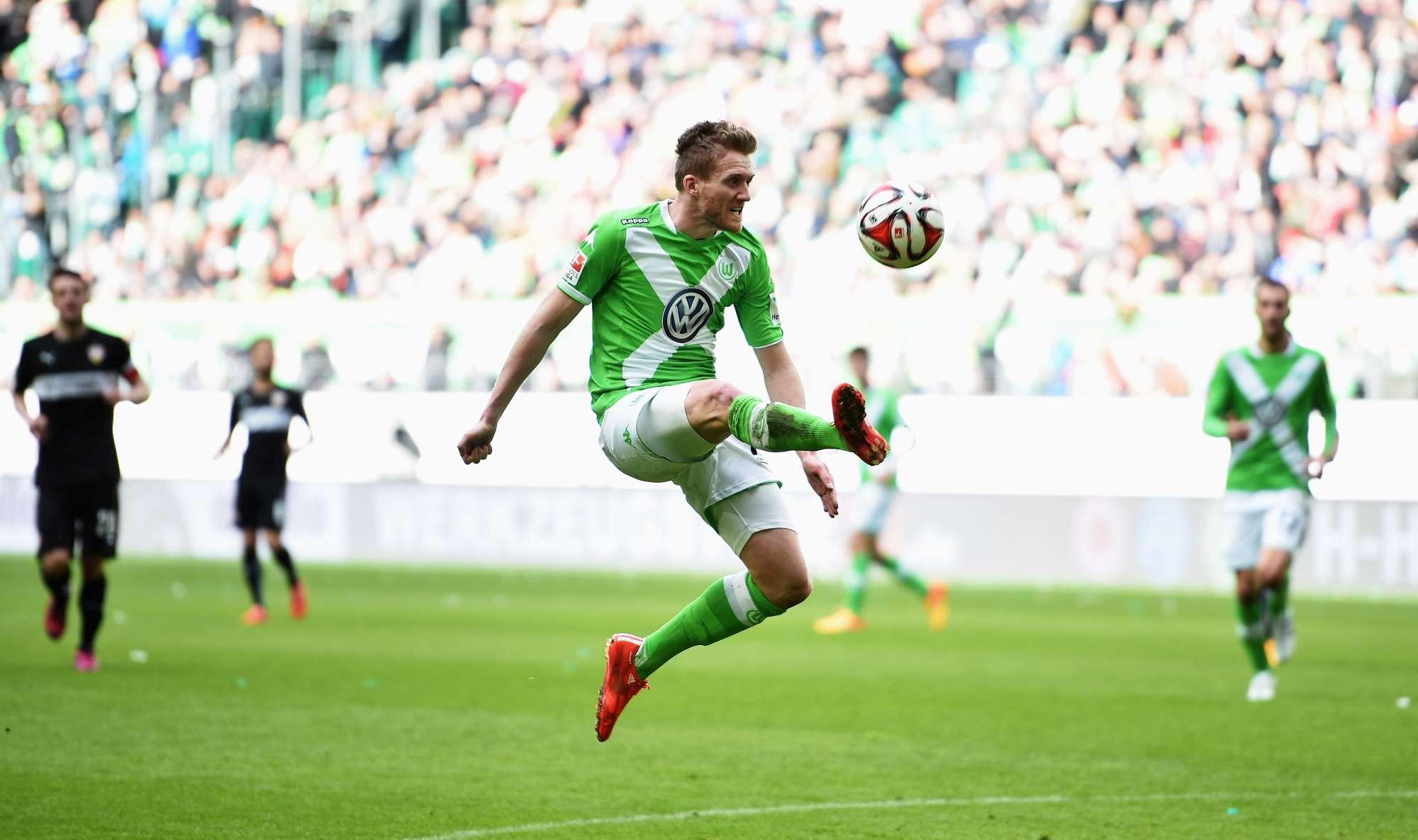 Andre Schurrle, centrocampista offensivo del Wolfsburg