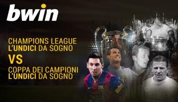 Champions League vs Coppa dei Campioni: gli undici da sogno a confronto