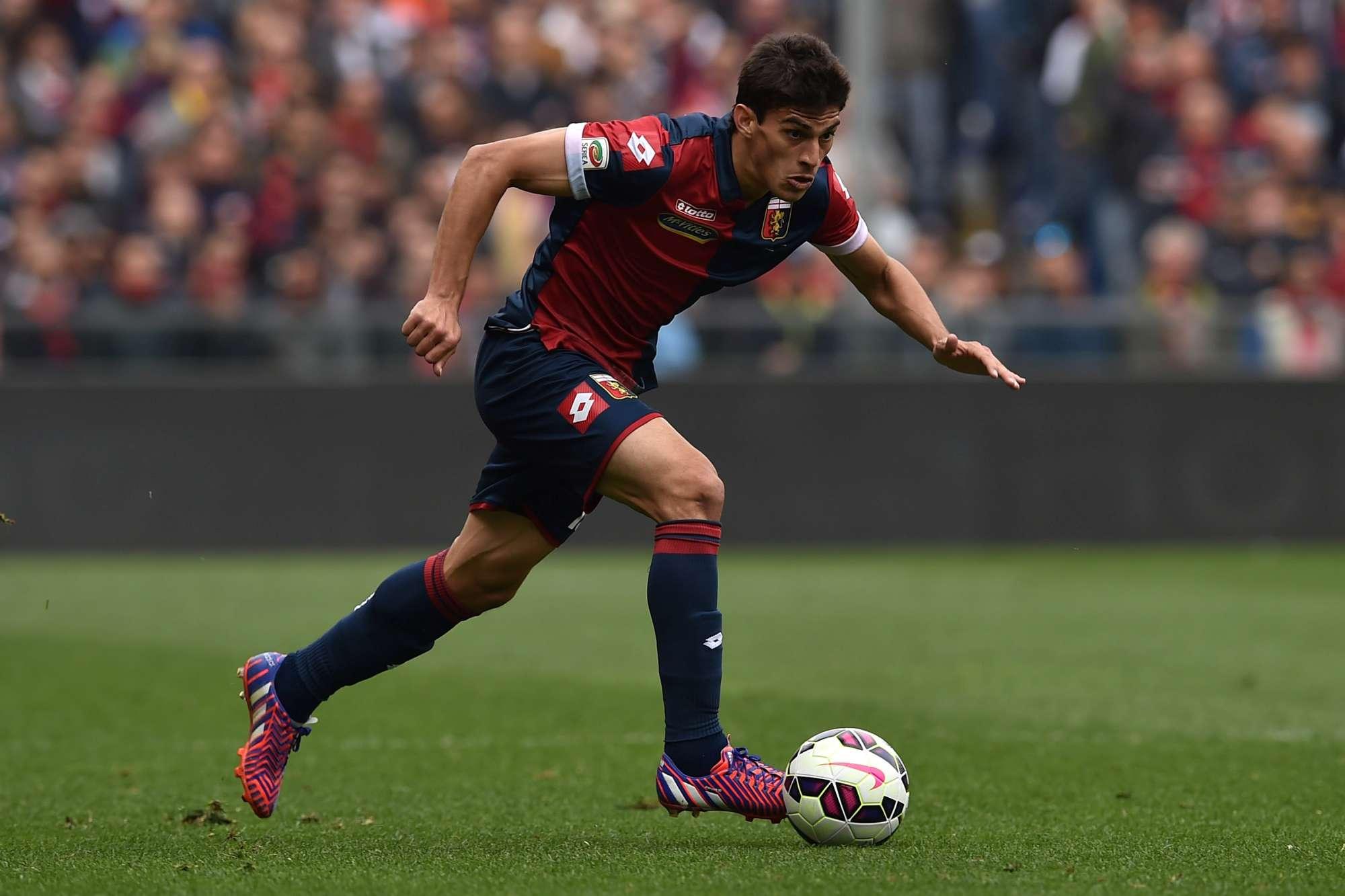 Diego Perotti, l'anno scorso fu uno dei protagonisti della bella stagione rossoblu