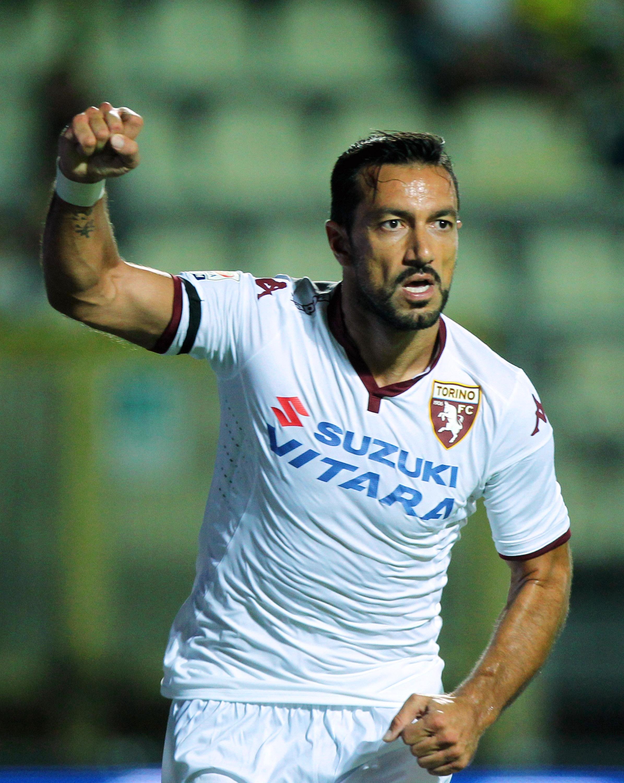 Fabio Quagliarella, due gol in queste prime due giornate di campionato