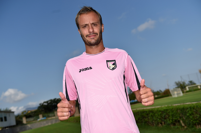 Alberto Gilardino, ancora in cerca del primo gol rosanero