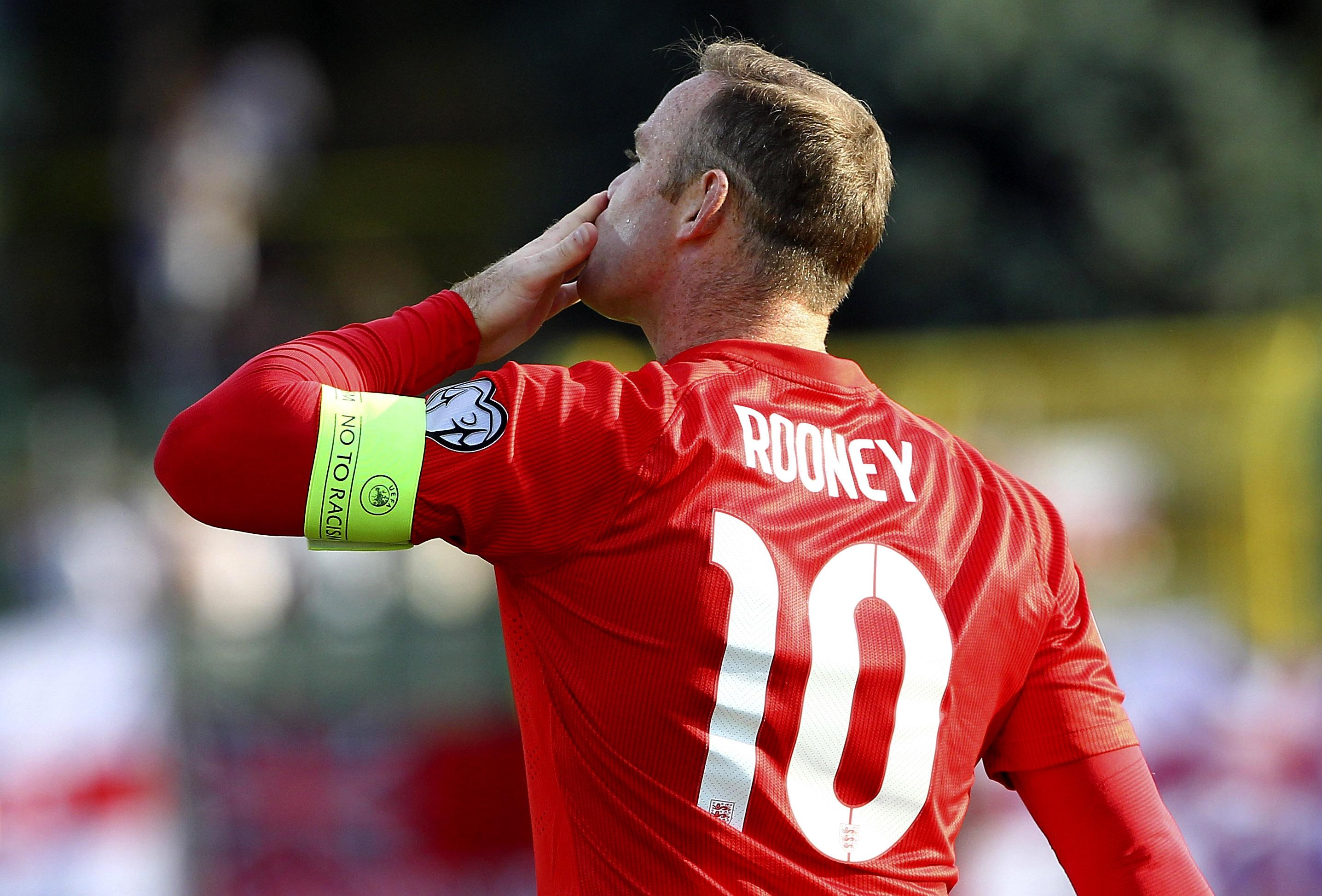 Wayne Rooney è il più grande cannoniere della storia della nazionale inglese