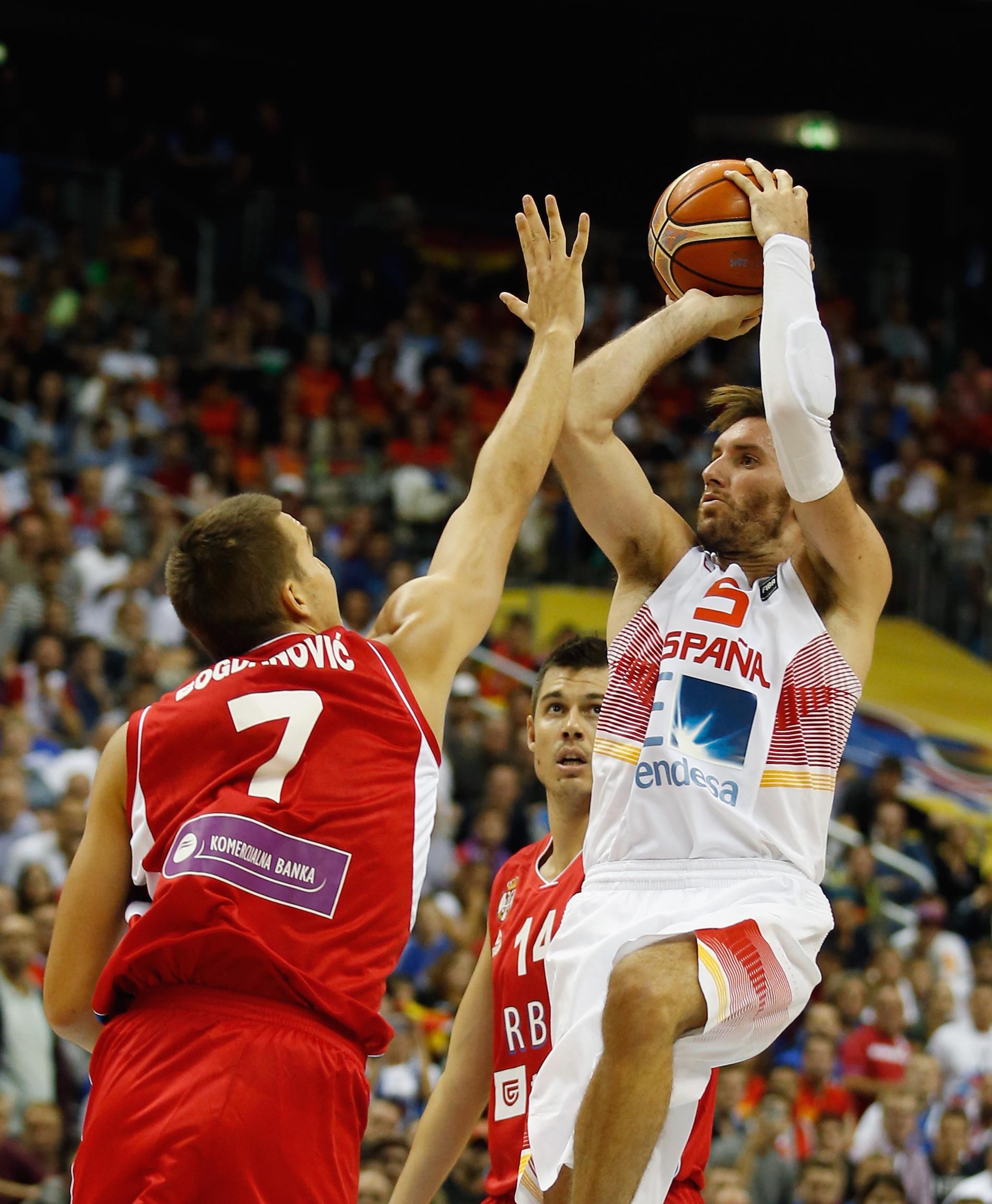 Spain v Serbia - FIBA Eurobasket 2015
