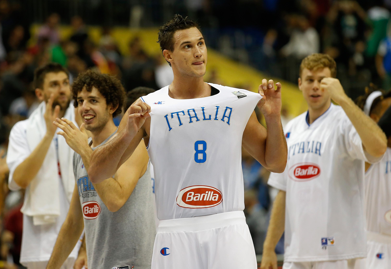 Gallinari è stato protagonista con l'Italia agli Europei dello scorso settembre
