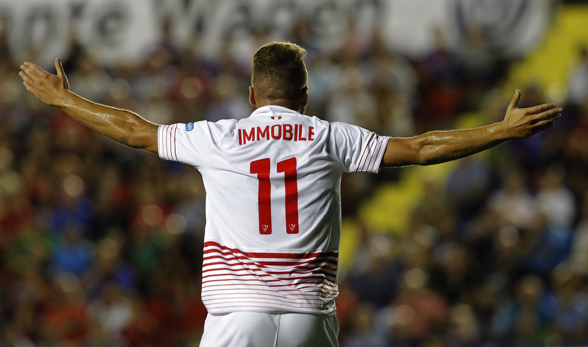 Ciro Immobile, arrivato al Siviglia in estate dal Borussia Dortmund