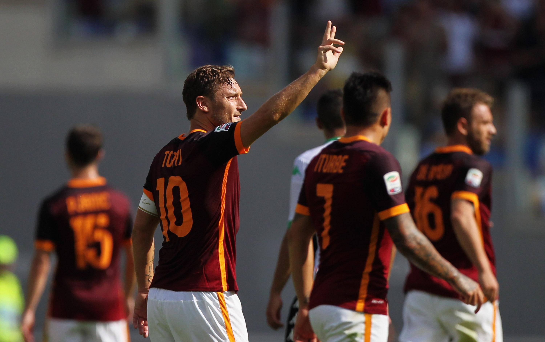Tutta Roma attende il rientro di Totti